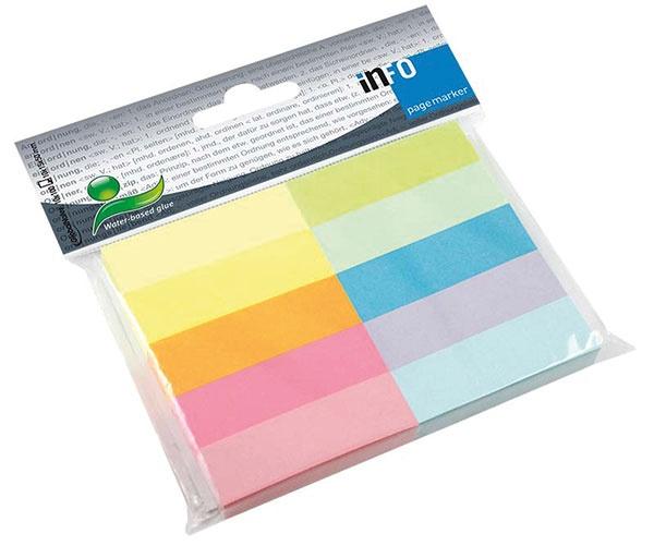 Info Page Marker 15  x 50 mm 10 Farben