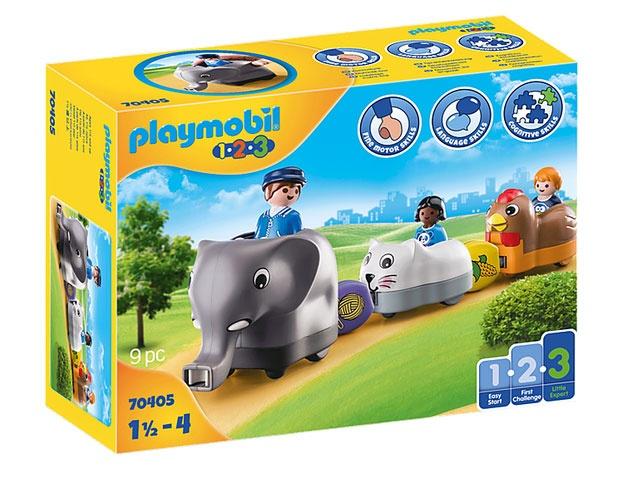 Playmobil 70405 1.2.3 Mein Schiebetierzug