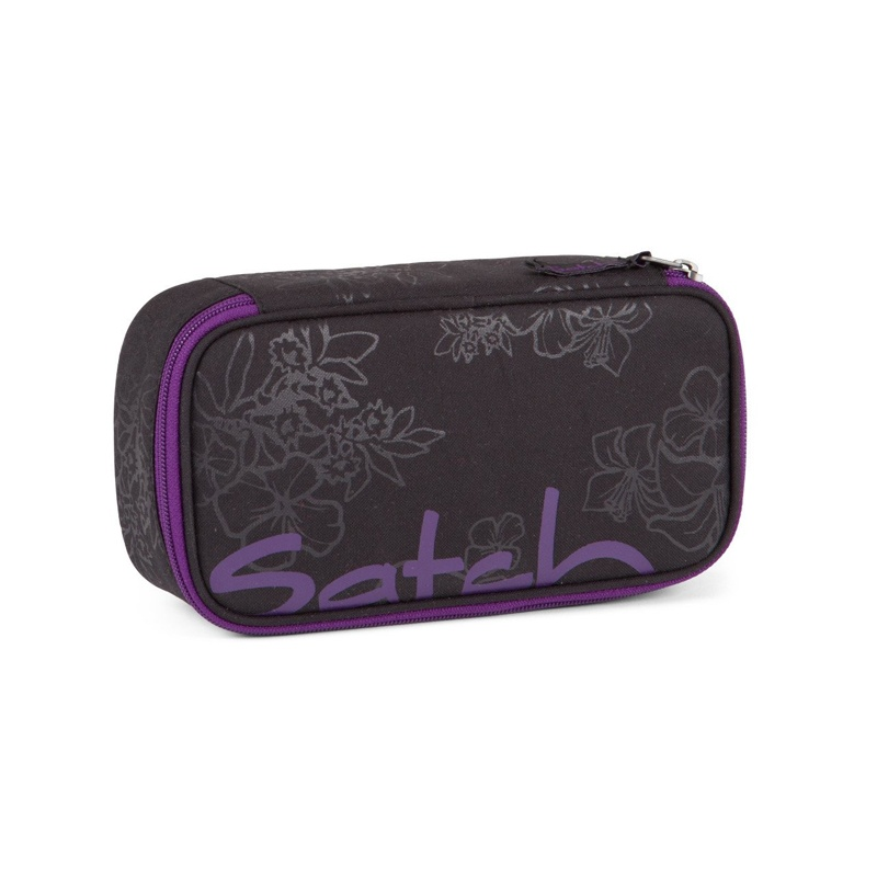 Ergobag Satch Zubehör Schlamperbox Purple Hibiskus