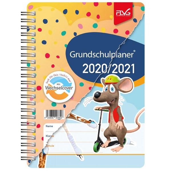 FLVG Grundschulplaner mit Frieda & Otto A5 2020/2021