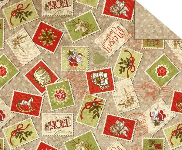 Fotokarton Vintage Weihnachten A4, 10 Bl.