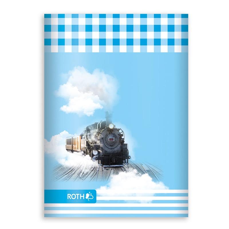 Roth Oktavheft Lokomotive Muttiheft Vatiheft A6 liniert