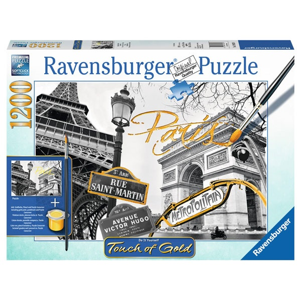 Ravensburger Puzzle Goldenes Paris 1200T