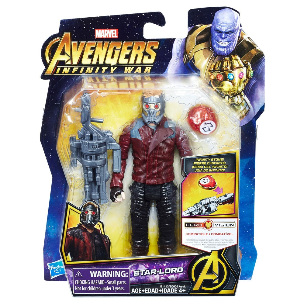Avengers Figur mit Infinity Stein Star-Lord