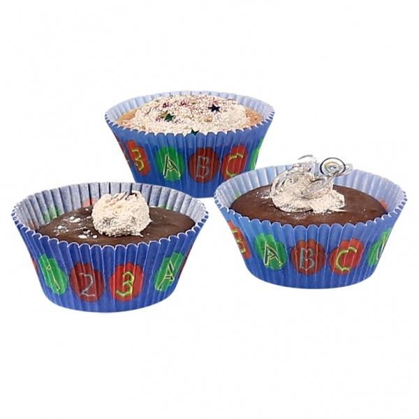 Muffinförmchen Schulanfang 48 Stück