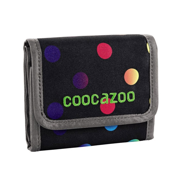 Coocazoo Cashdash Magic Polka Colorful Geldbeutel