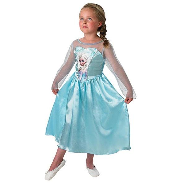 Kostüm Frozen Elsa Classic L 7-8 Jahre