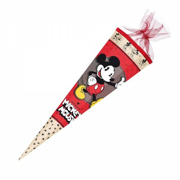 Schultüte Mickey Mouse 85cm eckig