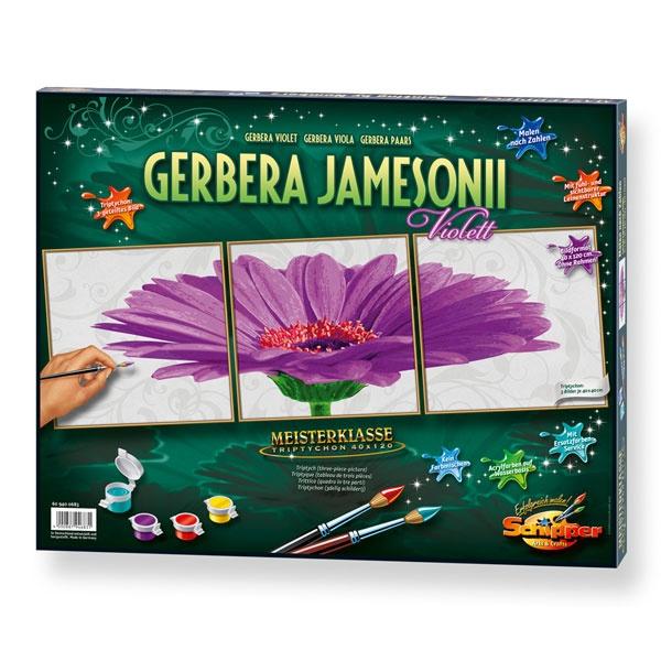 Schipper Malen nach Zahlen Gerbera jamesonii violett