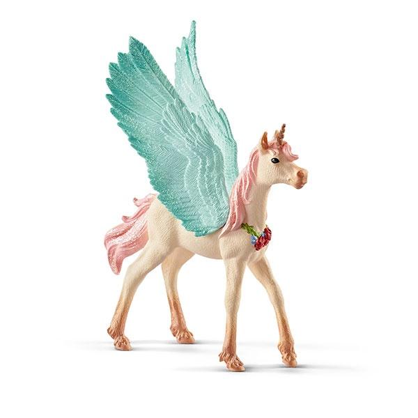 Schleich Bayala Schmuckeinhorn Pegasus Fohlen 70575