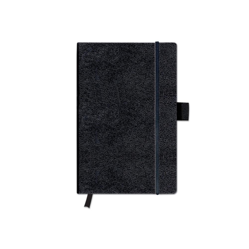 Herlitz Notizbuch A6  Classic Collektion kar Schwarz