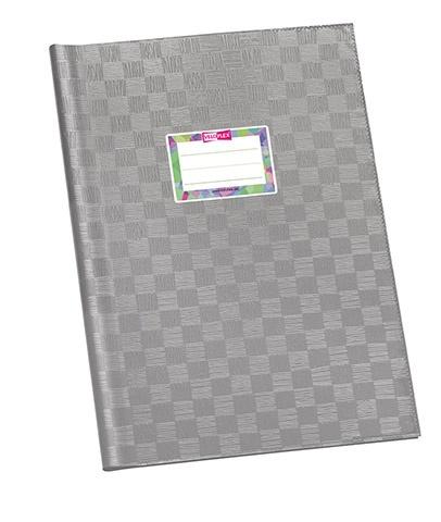 Hefthülle A4 grau gedeckt