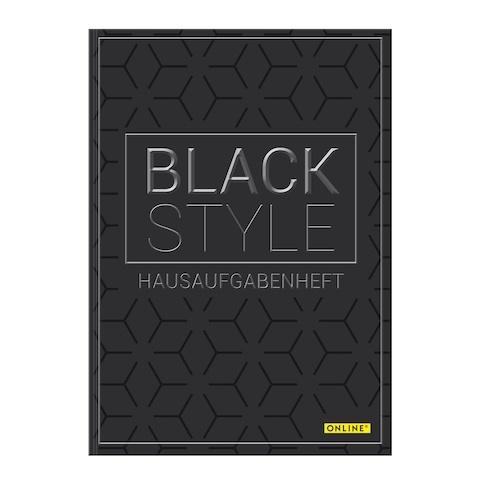 Online Hausaufgabenheft Black Style