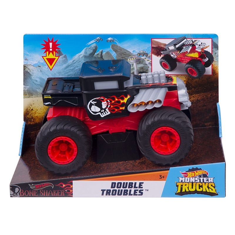 Hot Wheels Monster Truck 1:24 Double Troubles