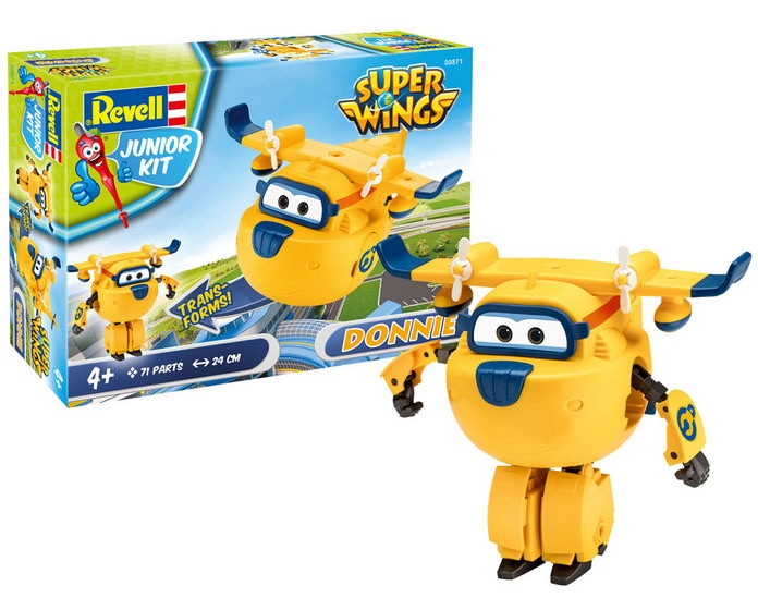 Revell Junior Kit Super Wings Donnie