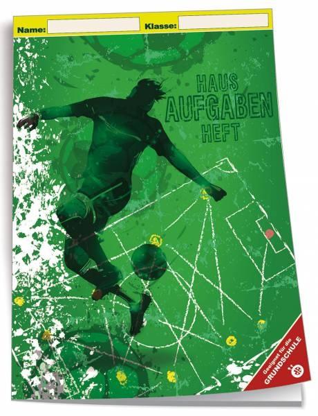 Hausaufgabenheft A5 Grundschule Fußball