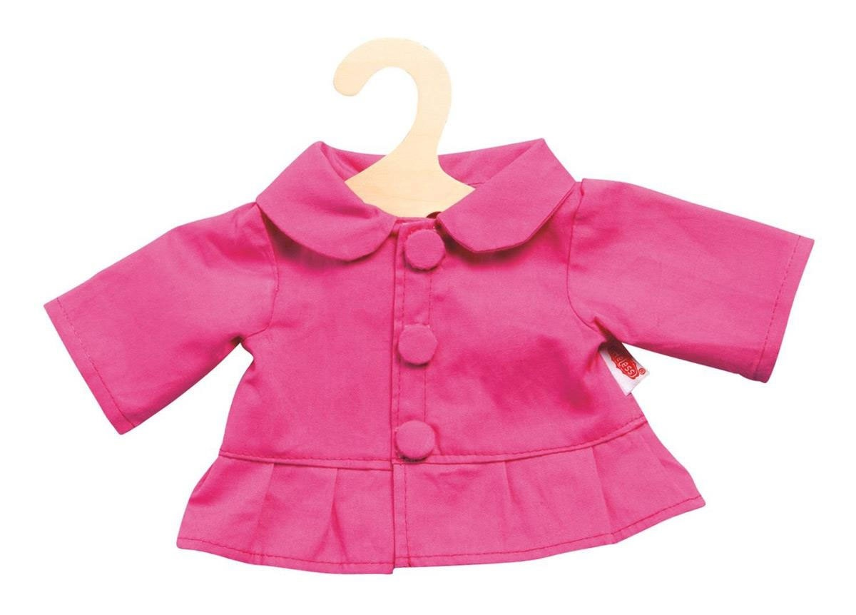 Heless Puppenkleidung Jacke pink 35-45 cm
