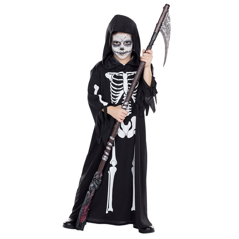 Kostüm Skelettrobe 116