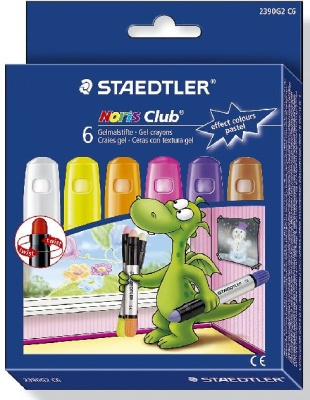 Staedtler Noris Club Gelmalstifte Effect Colors Pastel 6 St