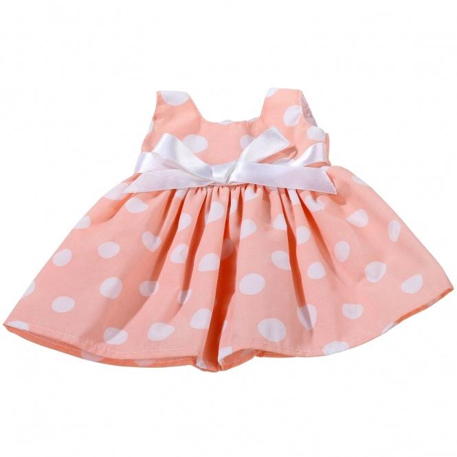 Götz Puppenkleidung Kleid mit Punkten