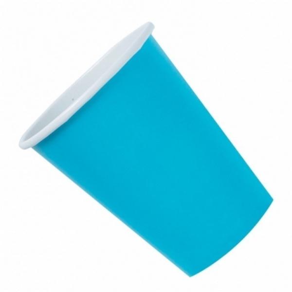 Partybecher Kunststoff 10 Stück azurblau