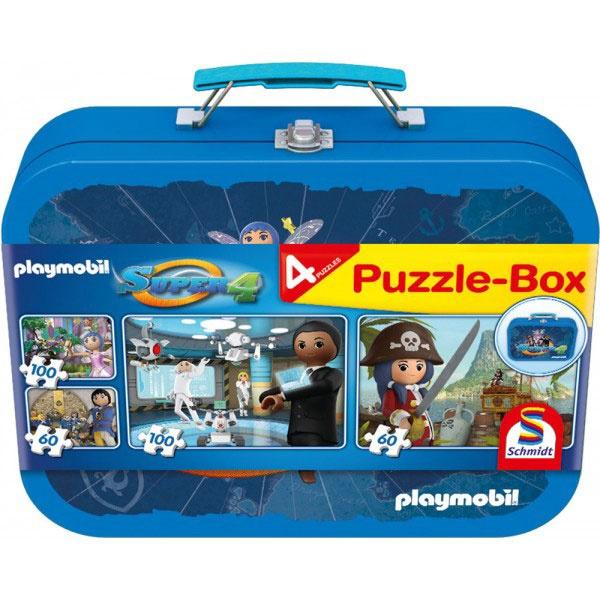 Puzzle Puzzle-Box Super 4  Playmobil