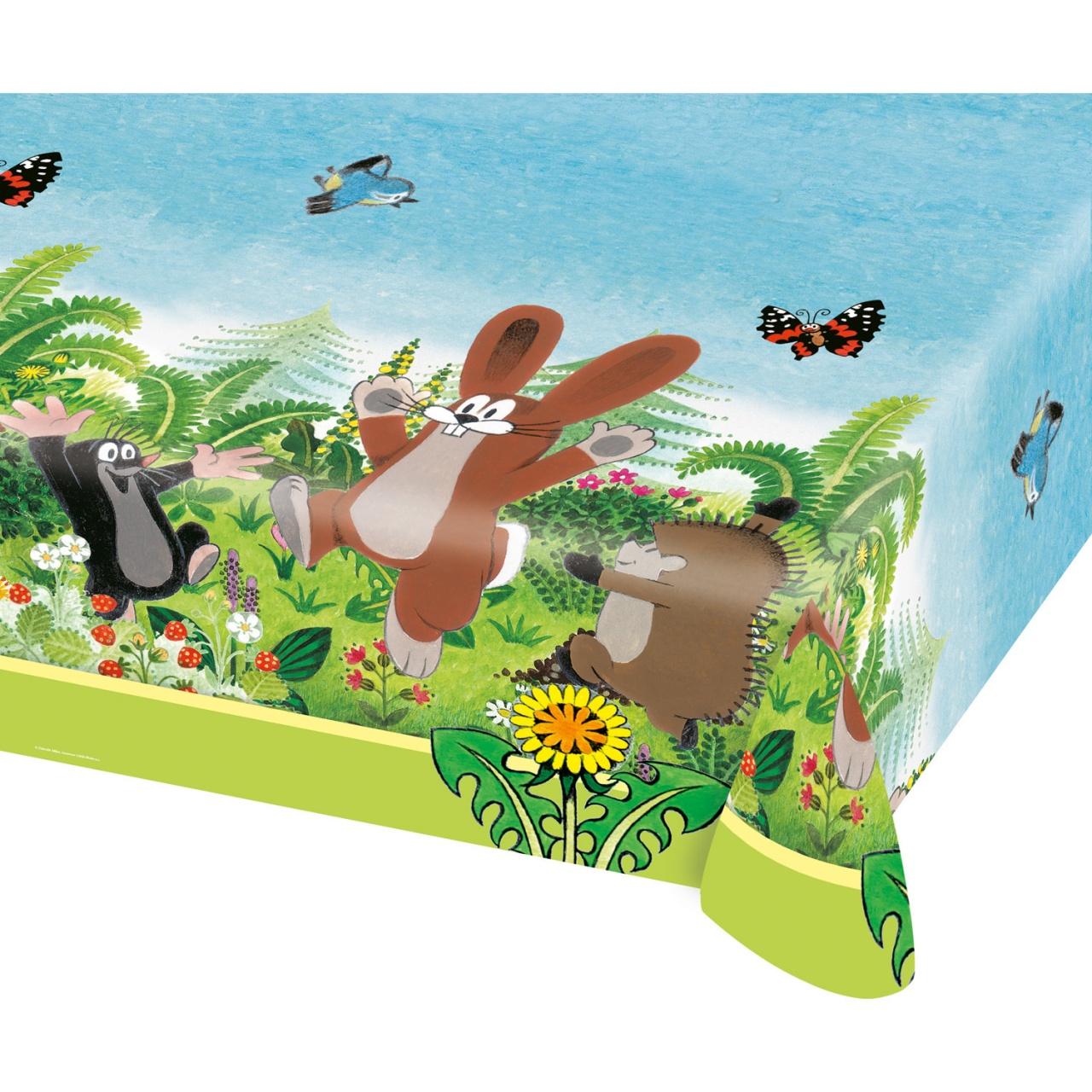 Party-Tischdecke Der kleine Maulwurf 120 x 180 cm