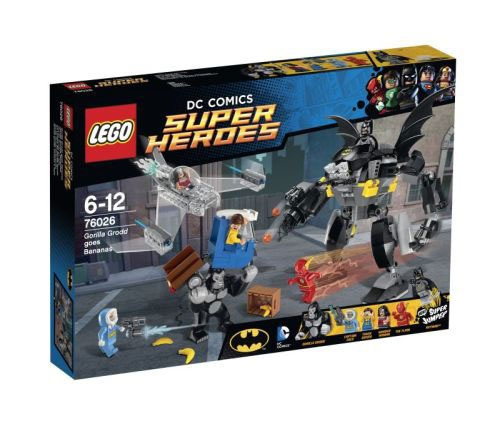 Lego Super Heroes  76026 Gorilla Grodds Wutanfall