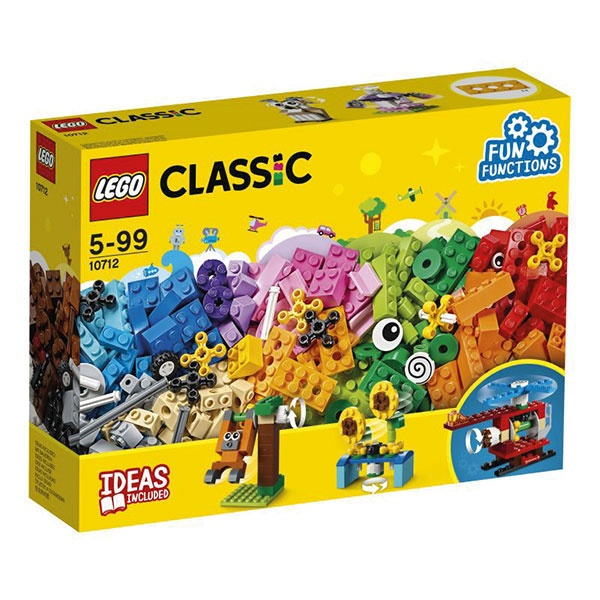 Lego Classic 10712 Lego Bausteine-Set Zahnräder
