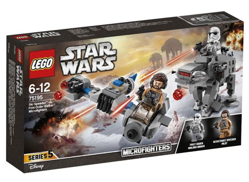 Lego Star Wars 75195 Ski Speeder vs. TIE Silencer