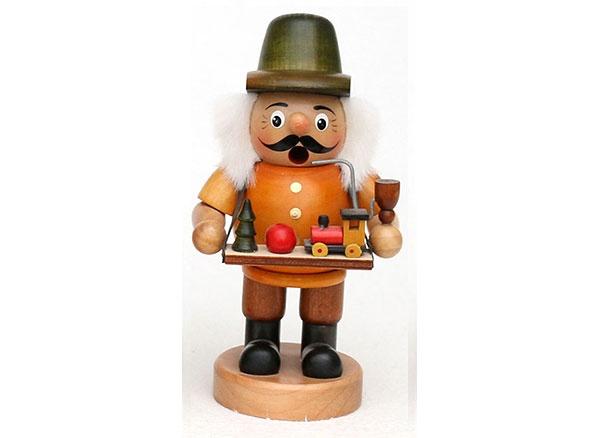 Räuchermännchen Spielzeughändler 19 cm
