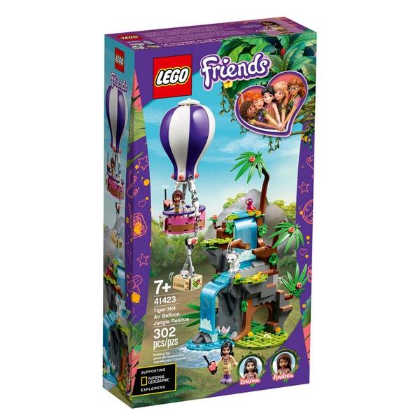 Lego Friends 41423 Tiger Rettung mit Heißluftballon