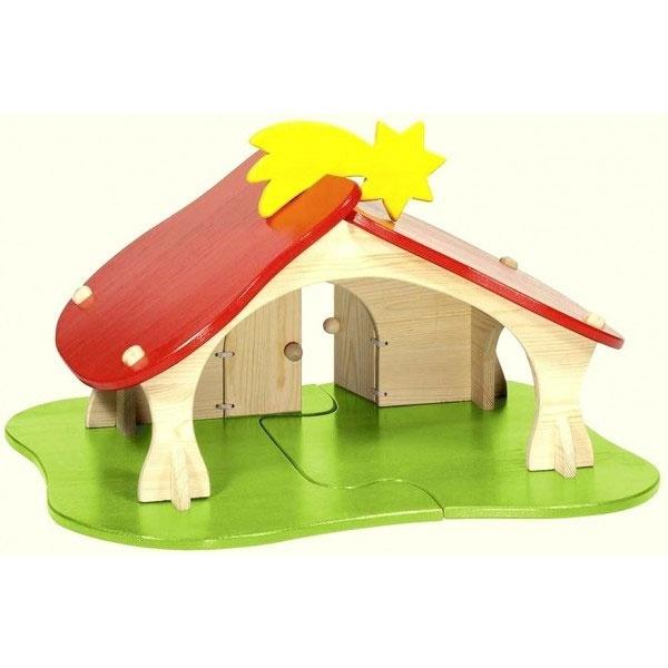 Puppenhaus von Holztiger 80311 72x36x52 cm