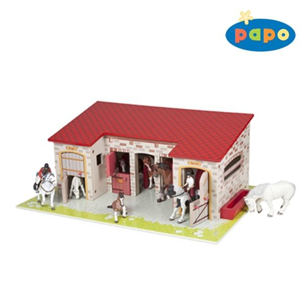 Papo 60102 Pferdestall