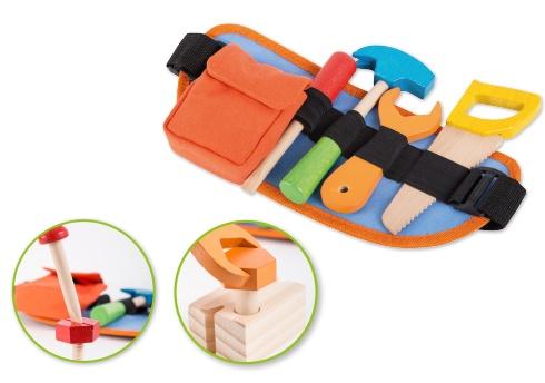 Werkzeuggürtel mit Holz-Werkzeug
