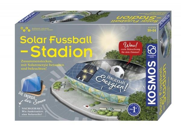 Experimentierkasten Solar-Fußballstadion