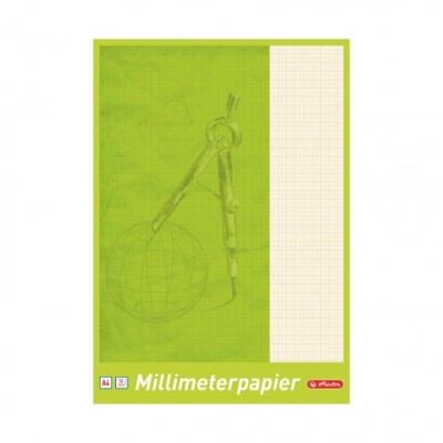 Herlitz Millimeterblock A4