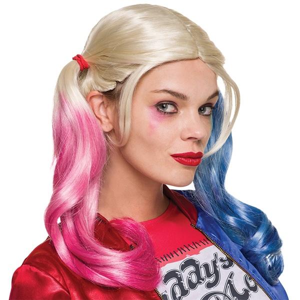 Kostüm-Zubehör Perücke Harley Quinn Suicide Squad Erw.