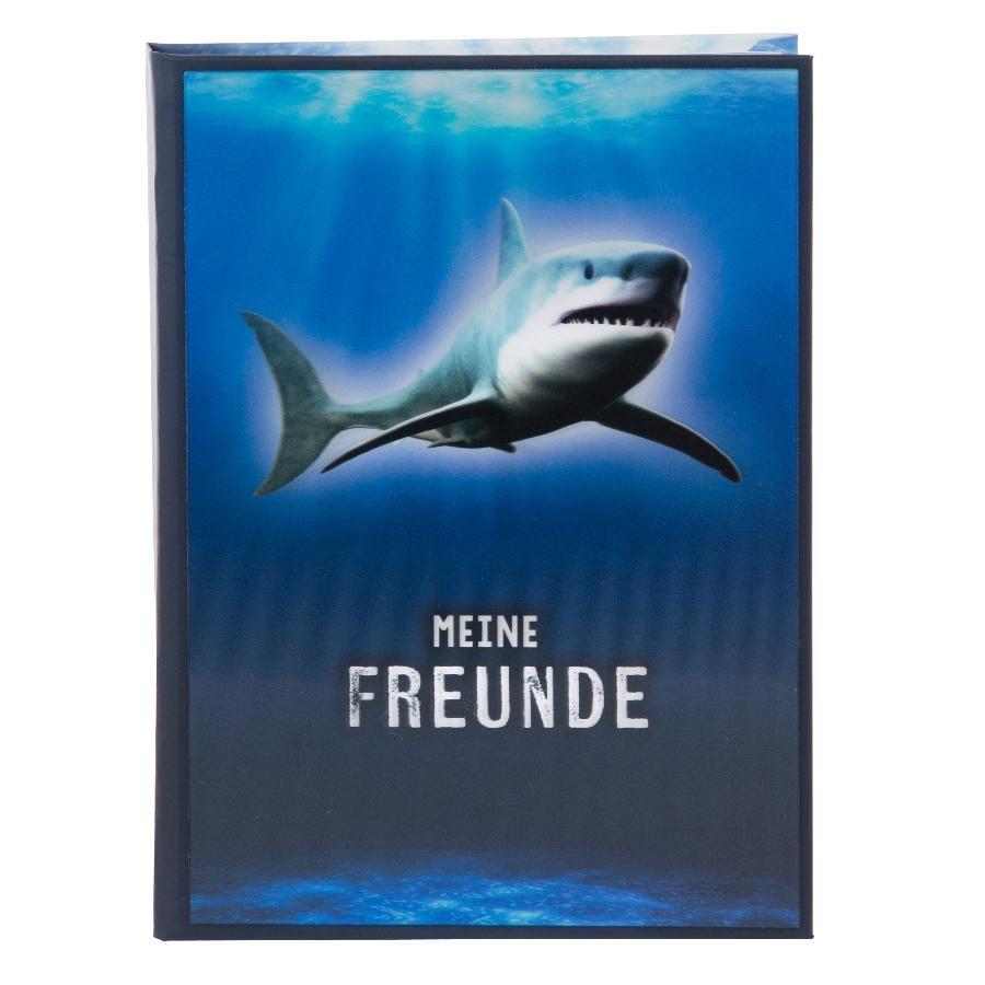 Goldbuch Freundebuch 3D Hai