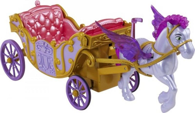 Disney Sofia die Erste Zugpferd Minimus und Kutsche