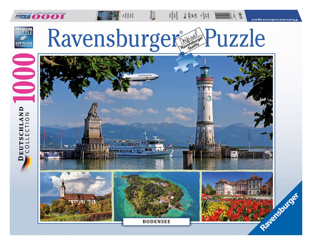 Ravensburger Puzzle Bodensee 1000 Teile