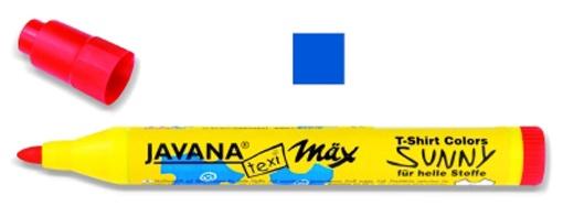 Kreul Javana texi mäx Sunny Stoffmalstift medium blau