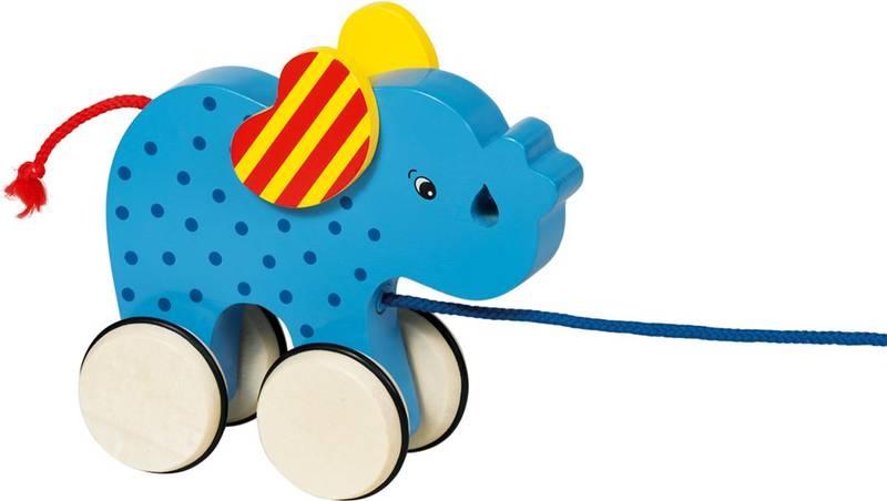 Ziehtier Elefant Basjo