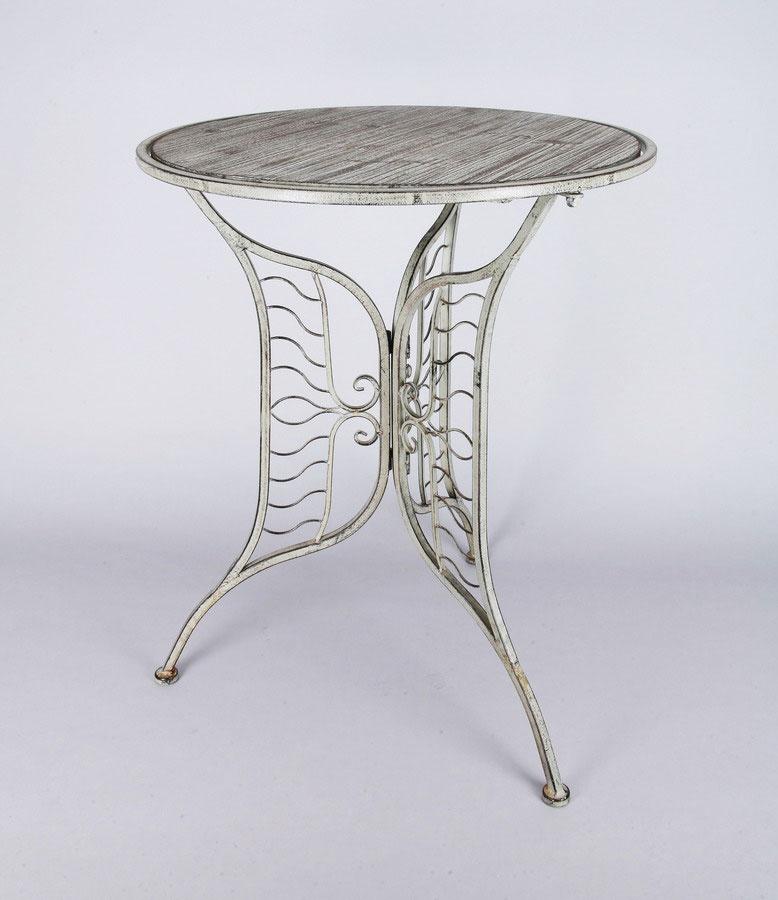 Deko-Tisch antik-braun 74x60 cm