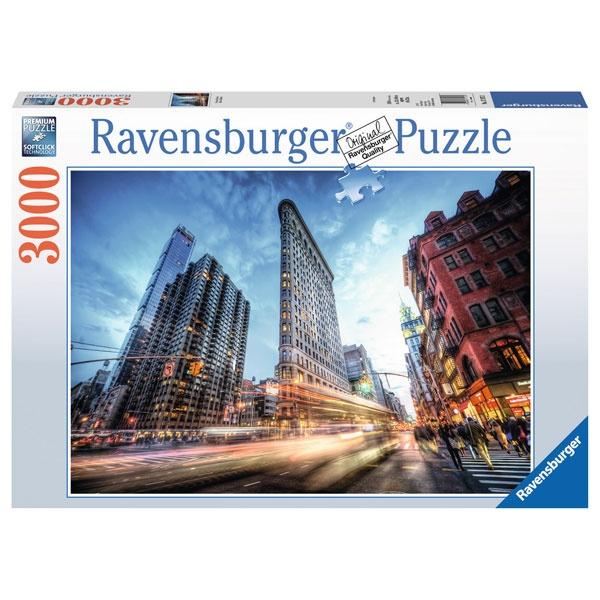 Ravensburger Puzzle Flat Iron Building 3000 Teile