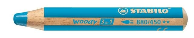 Stabilo Woody Farbstift cyanblau