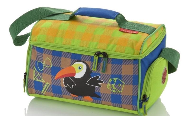 Travelite Youngster Reisetasche Tukan 14l blau grün