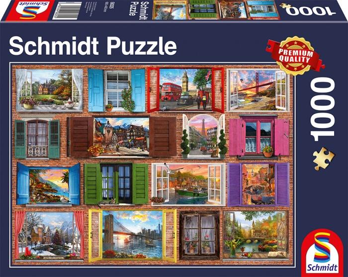 Schmidt Spiele Puzzle Fenster auf 1000 Teile