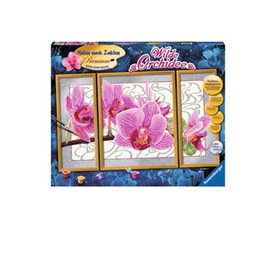Malen nach Zahlen Wilde Orchidee von Ravensburger