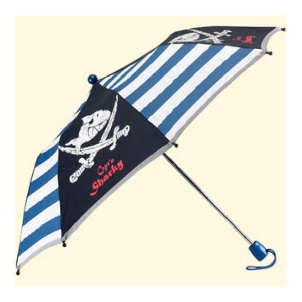 Captn Sharky Taschenschirm Regenschirm Kinderschirm
